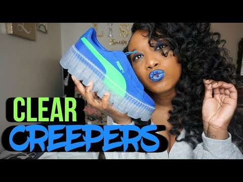 on sale 24b4e b902a Fenty Puma Surf Cleated Creepers |Unboxing and Styling ...