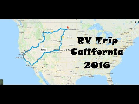 North Dakota to California Family Road Trip 2016