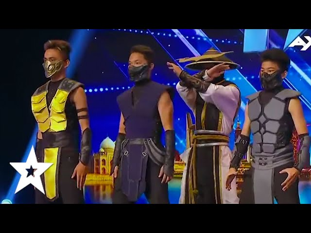 MIND BLOWING DANCE AUDITIONS BY ADEM! From Mortal Kombat To MORE! Asia's Got Talent