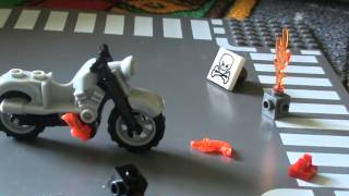 Ghost Rider Lego Moto + Personnage