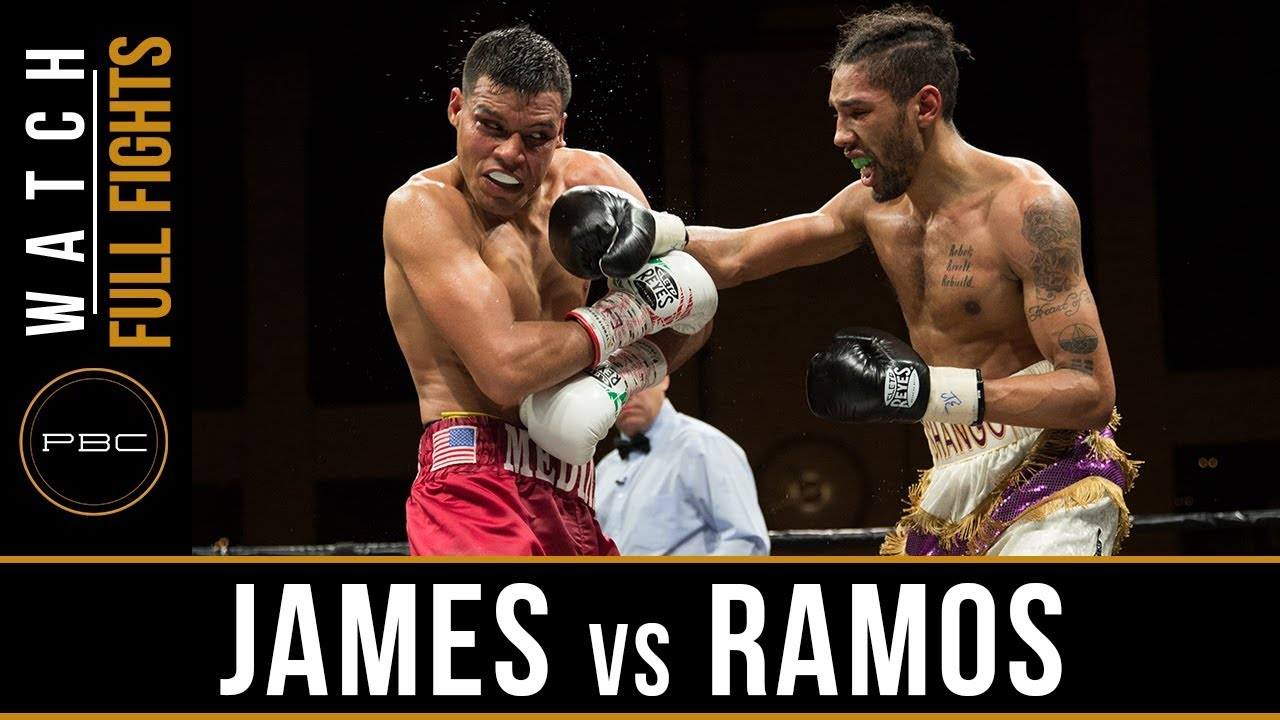 James vs Ramos FULL FIGHT: April 13, 2018