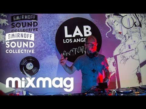 OLIVER HUNTEMANN's tech set in The Lab LA