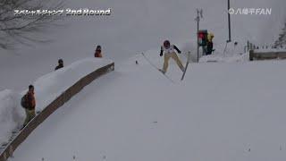 2nd Round_スキージャンプ2019in矢神飛躍台(71th岩手県民体スペシャルジャンプ)