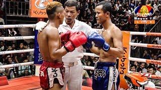 Kun Khmer, នឹម នន Vs សយ សី, BayonTV Boxing, 10/August/2018 | Khmer Boxing Highlights