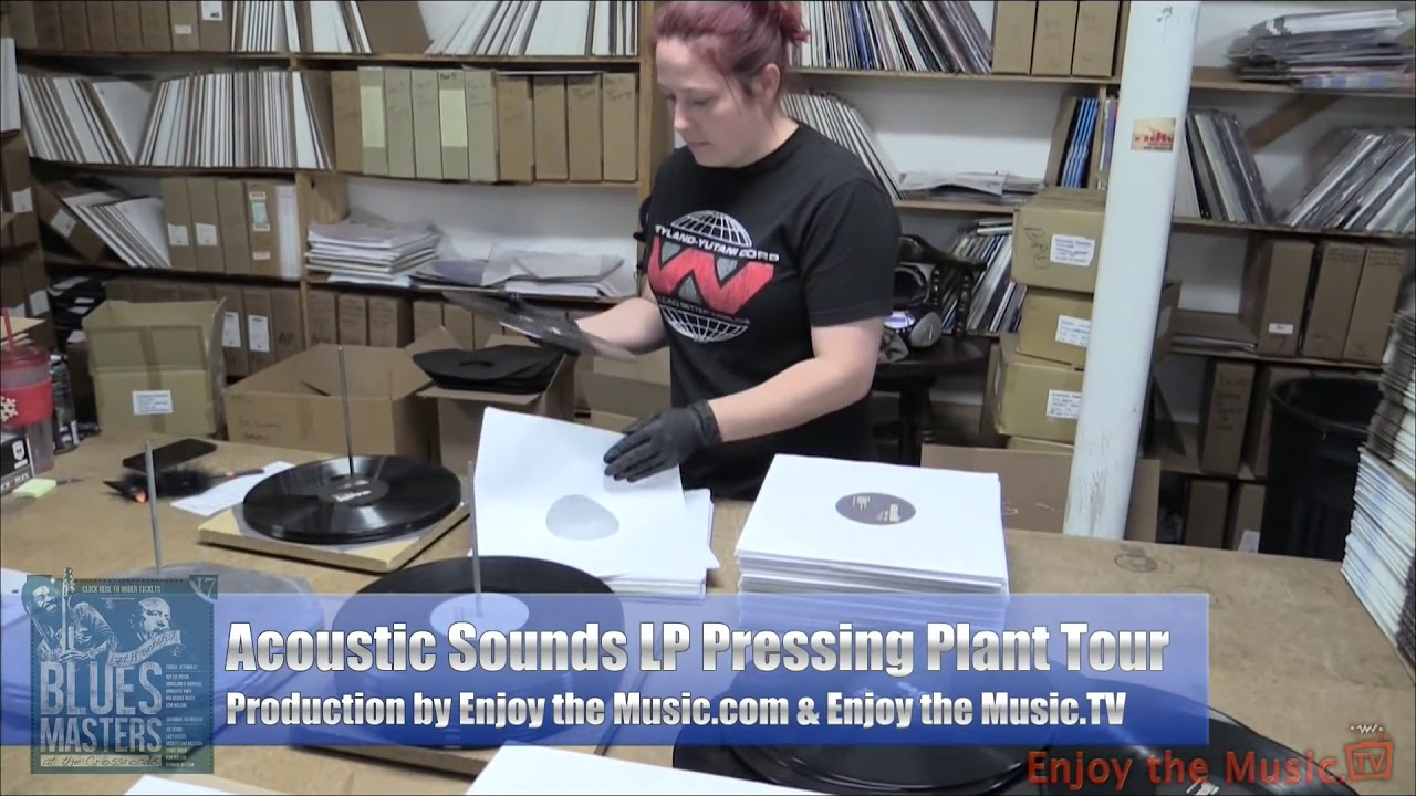 VIDEO: How A Vinyl Record Is Made