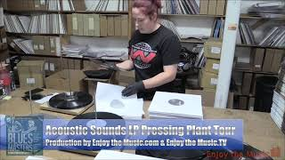 How A Vinyl Record Is Made: Quality Record Pressings / Acoustic Sounds / Vinyl LP Pressing Plant