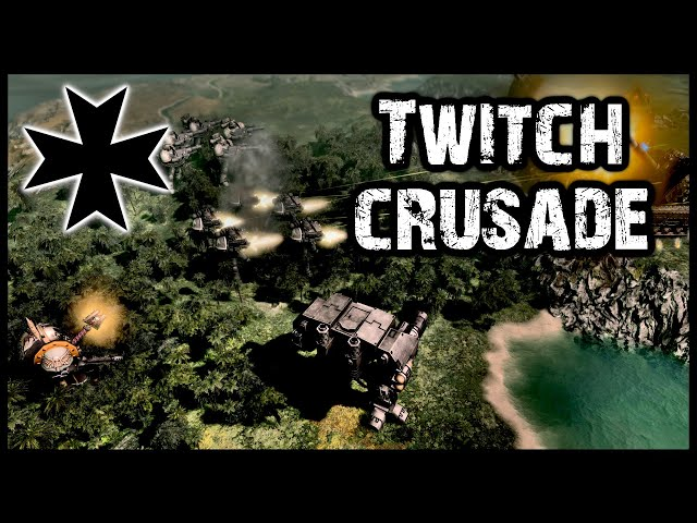 The Black Templar Twitch Crusade Has BEGUN! Warhammer 40k Gladius Multiplayer Gameplay