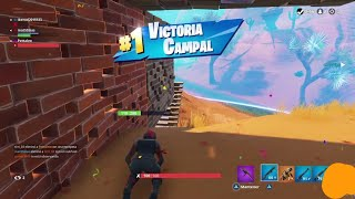 VICTORIA WITH SKIN RED LINE!! FORTNITE BATTLE ROYALE
