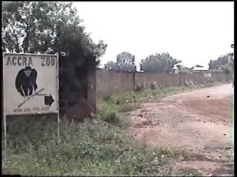Accra, stad en dierentuin