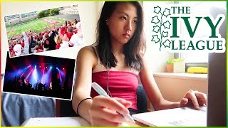 🔥what IVY LEAGUE college students do on weekends... (homecoming vlog 2018) | Katie Tracy