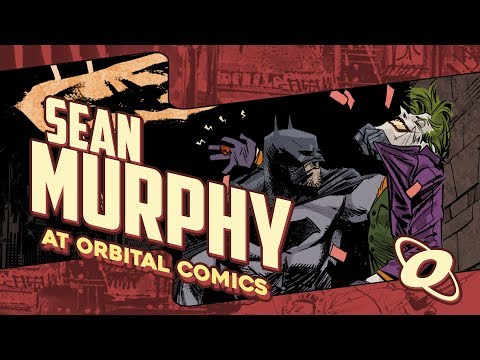 Sean Murphy Q&A - influences, technique and Batman: White Knight!
