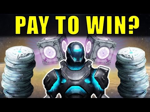 Destiny is PAY TO WIN?! | Sterling Treasure Microtransactions | April Update