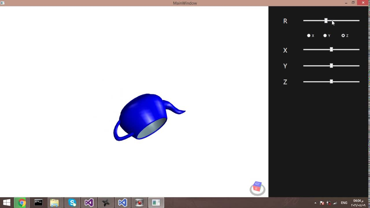 3D Model With WPF
