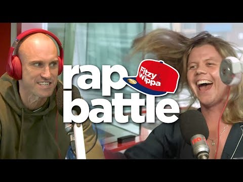 Conrad Sewell SLAYS rap battle against Fitzy