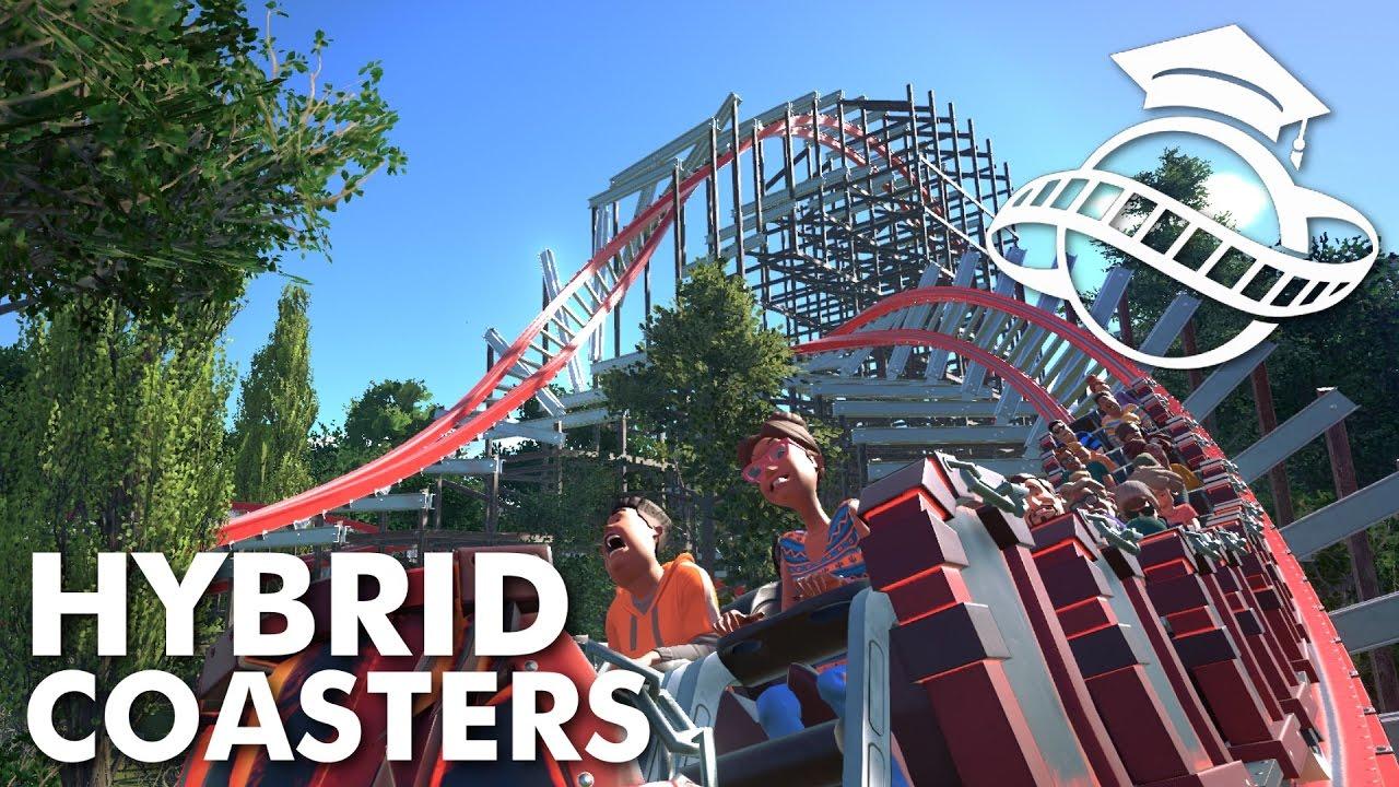Planet Coaster College Hybrid Coaster Tutorial Youtube