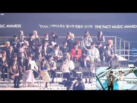 190424 TMA MC Seohyun Gotta Go(벌써12시) Idol Reaction Front Fancam