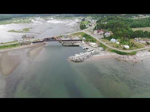 Centre Du Village Port Daniel Gaspesie Quebec Canada.07/07/2020