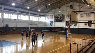 2018 Boys Varsity Volleyball vs. Long Chin HS 4-26-18