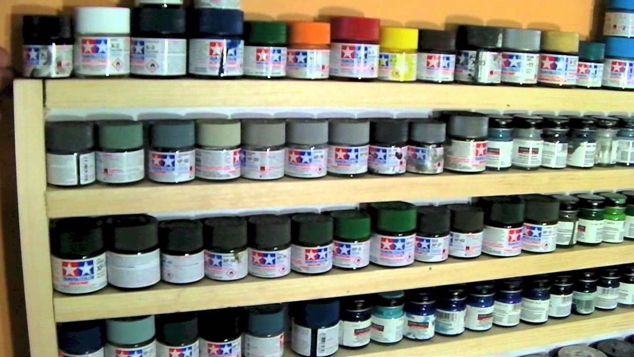 How To Make A Paint Can Storage Rack Video