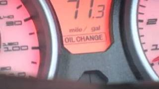 07+ Suzuki Burgman 400 Oil Change Interval Display