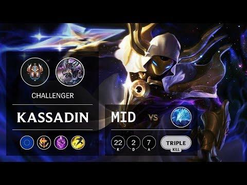 Kassadin Mid vs Anivia - EUW Challenger Patch 9.23