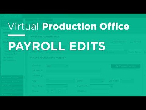 VPO - Payroll Edits