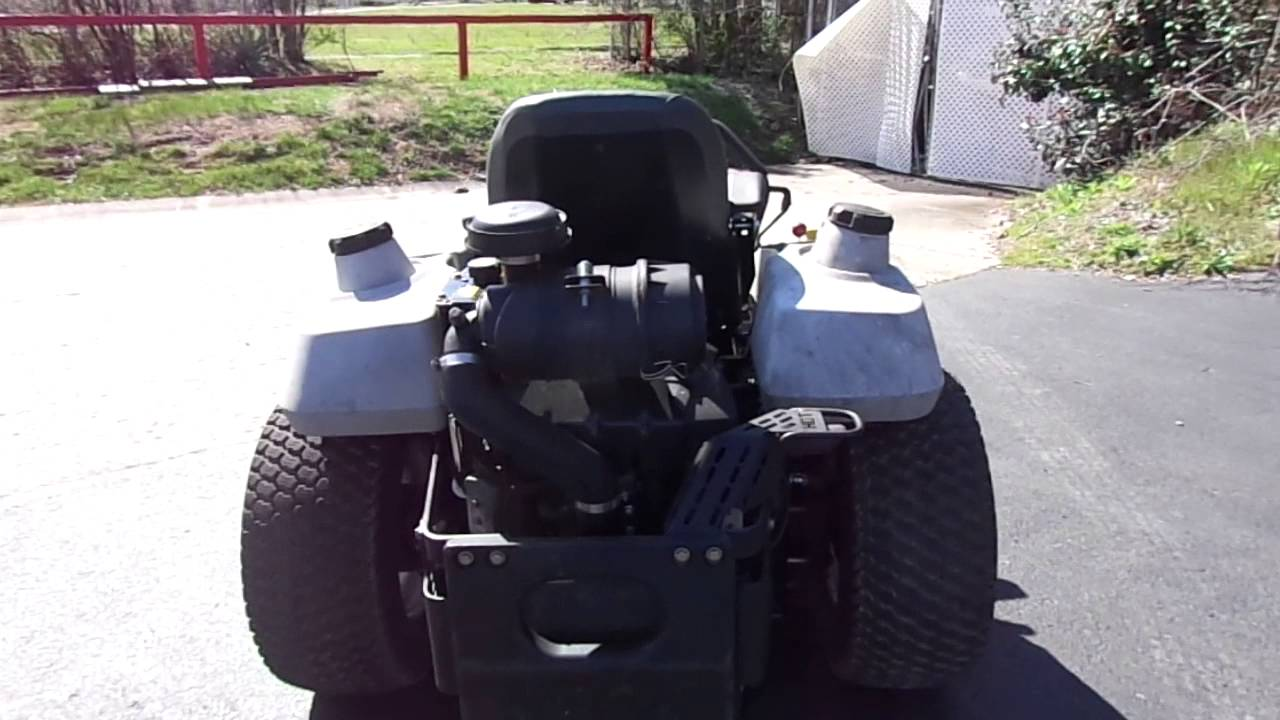 52 U0026quot  Exmark Zero Turn Lawn Mower With 23 Hp Kawasaki Engine