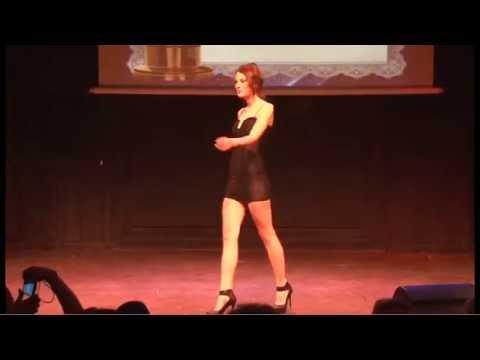 WCOPA Paris-Hollywood Pauline Andreeva, tenue de soirée