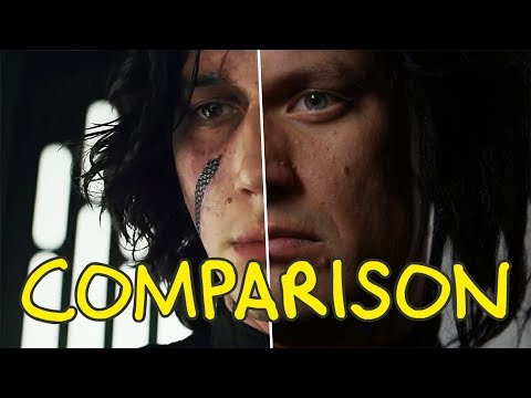 Download Youtube: Star Wars: The Last Jedi - Homemade Side by Side Comparison