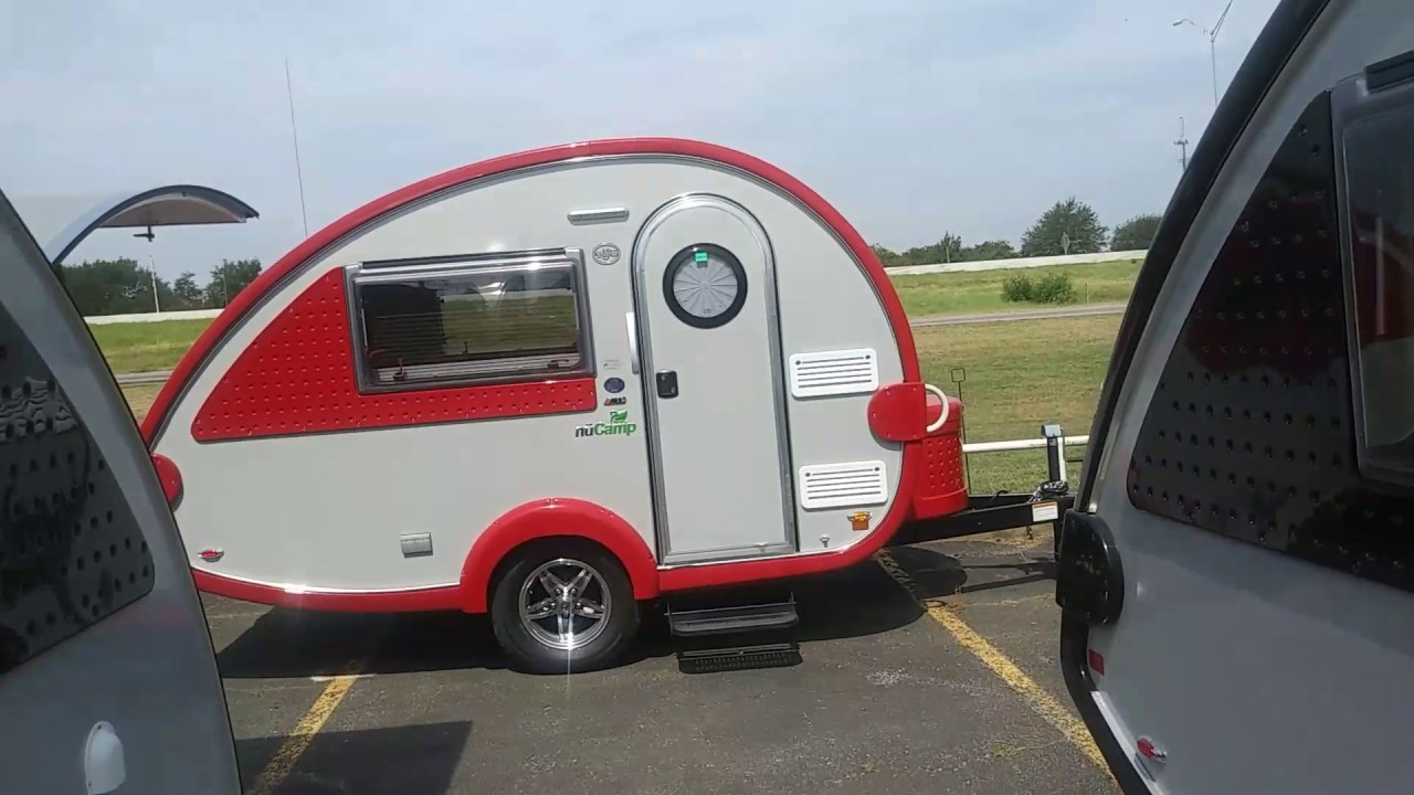 Tab NuCampvery lightweight small travel trailer  YouTube