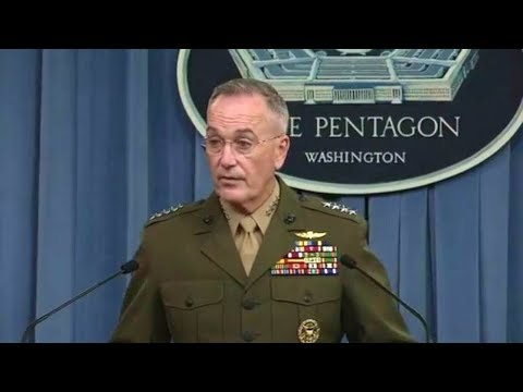 Gen. Joseph Dunford press briefing on operations in Niger. October 23, 2017