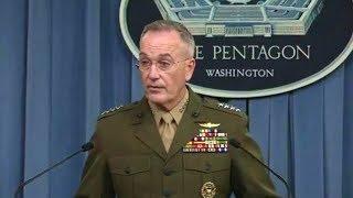 Gen. Joseph Dunford press briefing on operations in Niger. October 23, 2017
