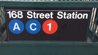 MTA NYC Subway: R32, R46, R62A & R160 (1) (A) (C) Trains @ Washington Heights-168th Street