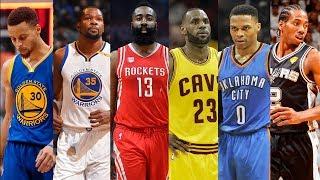 NBA Top 25 Players of the 2017-2018 Season