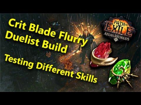 Image Result For Blade Flurry Build