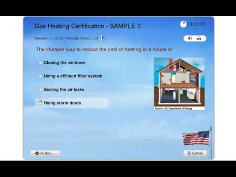 Gas Heating Certification - Practice Exam 3 - NATE ICE HVAC - Hot Water Gas Systems