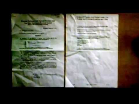 TV Licence Search Warrant obtained through Fraud and Perjury