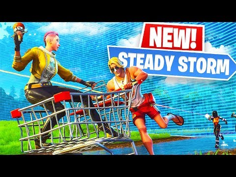 New STEADY STORM Game Mode! (Fortnite New Update)