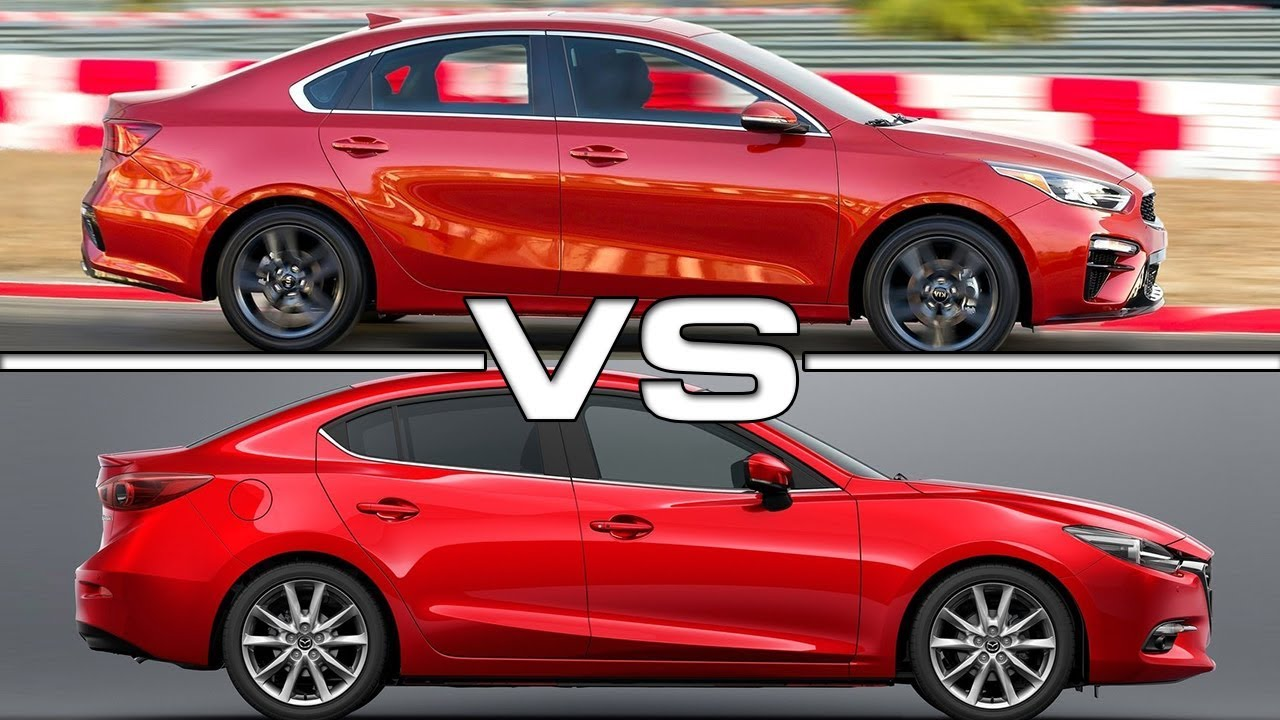 2019 Kia Forte Vs 2018 Mazda 3 Sedan Youtube