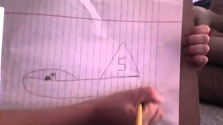 How to draw a navy jet