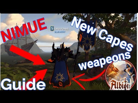 Albion Online I NIMUE UPDATE Capes & Weapons Guide