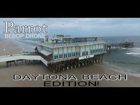 PARROT BEBOP DRONE DOES DAYTONA BEACH - MAIN STREET PIER