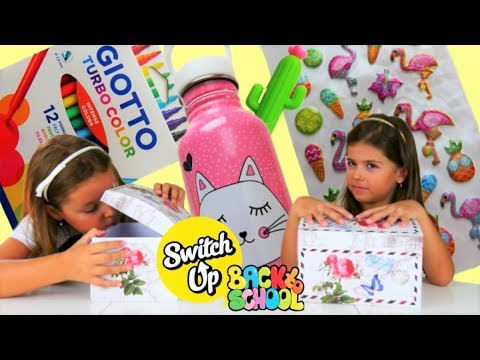 Back To School Switch Up CHALLENGE 2 !!!  / ARTEMI STAR
