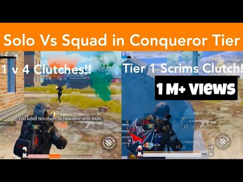 This Is How You Can Clutch Like A PRO | Conqueror League | PUBG Mobile | Mr Spike