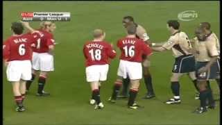 Manchester United 0-1 Arsenal 2001-02 (Title won at Old Trafford)