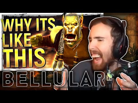 """Asmongold Reacts to """"Being Real About World of Warcraft & Blizzard Outrage"""" by Bellular"""