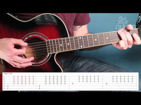 Learn How To Play Mistletoe by Justin Bieber on Guitar (video lesson)