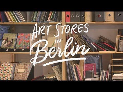 Art Stores in Berlin 🎨