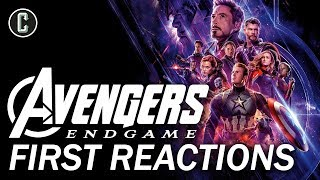 Avengers: Endgame First Reactions Praise the Epic Conclusion