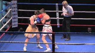 La victoire de Stéphanie Ducastel au championnat d'Europe de boxe anglaise
